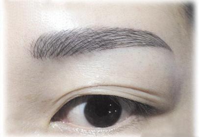 绣眉掉痂后,纹眉和绣眉对比图片,纹眉和绣眉的图片 ...